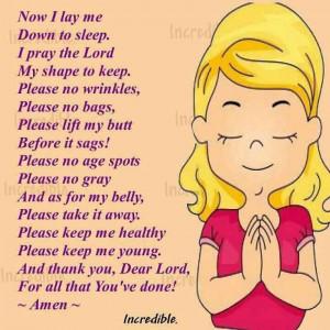 bedtime prayer