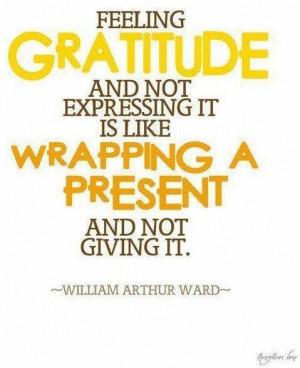 Gratitude quotes, positive, sayings, william arthur ward