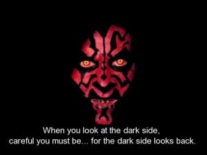 movie, star wars, quotes, sayings, dark side, look, careful ...