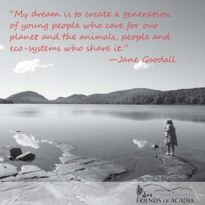 ... and the animals, people and eco-systems who share it. --Jand Goodall