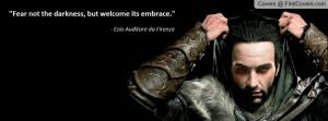 Ezio Auditore Profile Facebook Covers