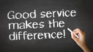 CUSTOMER SERVICE SATISFACTION RATINGS FROM POOR TO GOOD Customer ...