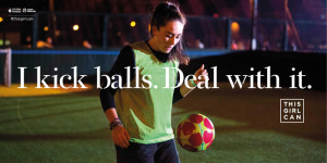 ... campaign encouraging women and teenage girls to play sport goes viral