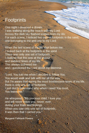 footprints in the sand poem shadow forest footprints in