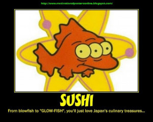 NUCLEAR SUSHI? - radioactive iodine at 7.5 million times the legal ...