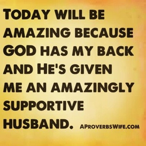 Marriage Quotes: Thanking God for a Supportive Husband