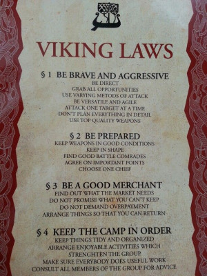 Gotta love Vikings. :)