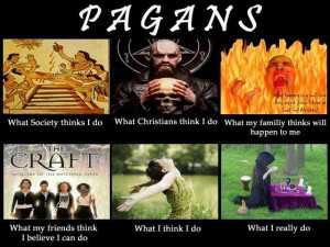 pagan it should be noted that not all pagans are wiccan or witches but ...
