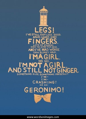 Doctor who quotes...