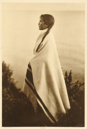 Antique Photograph ~+~+ Every Wind, Ojibway Woman by Roland W. Reed ...