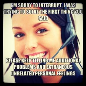 OMG YES. | Call Center Humor