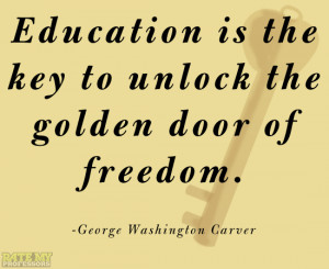 GEORGE WASHINGTON Education Quote