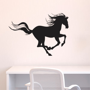 Galloping Horse Wall Quotes™ Wall Art Decal