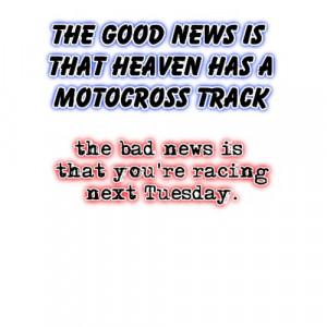 ... heaven dirt bike motocross t shirt by allangee see more dirt t shirts