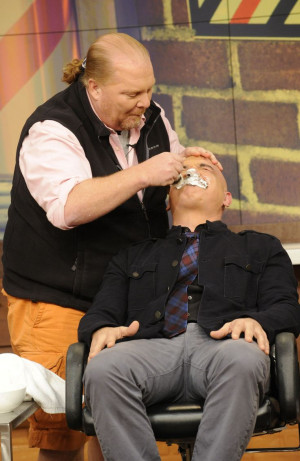Movember is over & Michael Symon shaved off his mustache! #TheChew500
