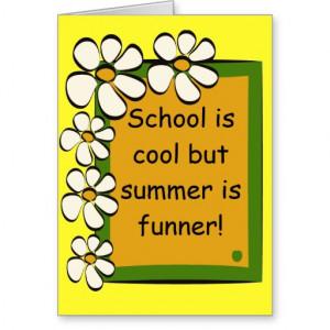 School Principal Cards Card