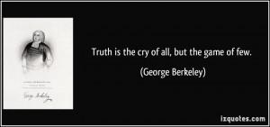 More George Berkeley Quotes