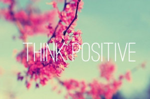 large think positive