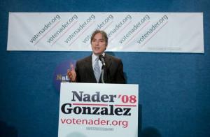Matt Gonzalez Independent vice presidential candidate Matt Gonzalez