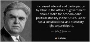 John L Lewis Quotes