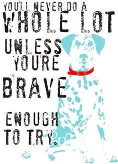 ... www.etsy.com/listing/61418137/dalmatian-dog-art-print-inspirational