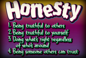 Teachable Moment: Honesty is the Best Policy