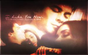 The Vampire Diaries TV Show Damon & Elena