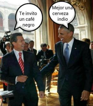 Enrique Peña Nieto y Barack Obama