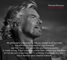 ... your creative instincts. #Richard #Branson (Losing my Virginity