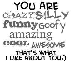 Goofy Best Friend Quotes | Myspace Graphics > Friends > you are crazy ...