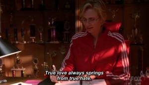 True love always springs from true hate.
