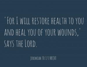 Healing Prayers For You