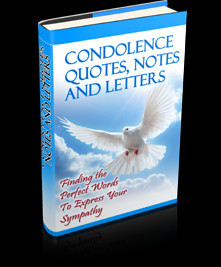 Condolence Quotes, Notes And Letters: Finding The Perfect Words To ...