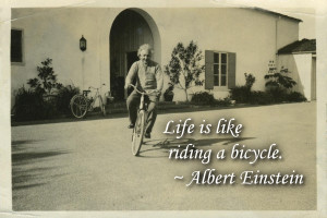 Inspirational Bicycle Quotes