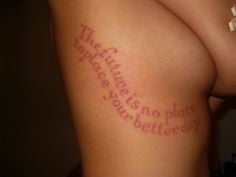 Pink dmb tattoo. Love the pink! More