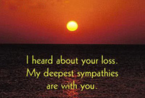 sympathy quotes pictures