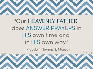 Answering Prayers