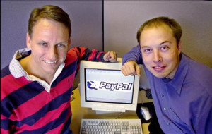 Peter Thiel, the co-founder of PayPal