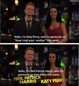 funny, how i met your mother, katy perry, neil patrick harris ...