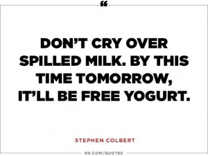 Stephen Colbert Funny Quotes