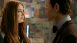 Karen Gillan's brief return as Amy Pond to say goodbye to Matt Smith's ...