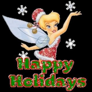 Happy Holiday Tinkerbell Image