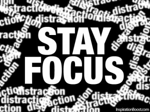 Distraction, Focus, Targeted