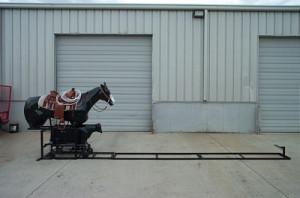 calf roping machine