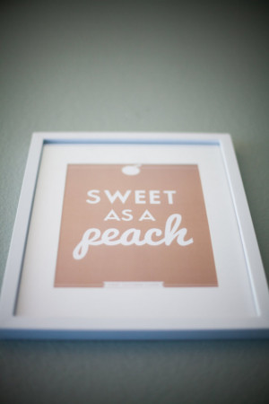 Southern Sayings 8 x 10 Sweet as a Peach by StephanieCreekmur570