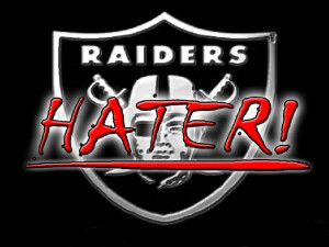 raider hater all the way Image