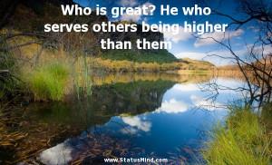others being higher than them Heinrich Mann Quotes StatusMind