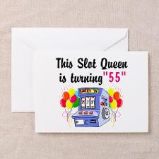 HAPPY 55TH BIRTHDAY Greeting Cards (Pk of 10) for