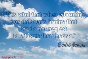 Quotes About Educating Children Educating our children's