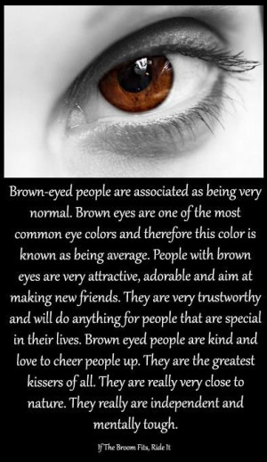 brown eye quotes